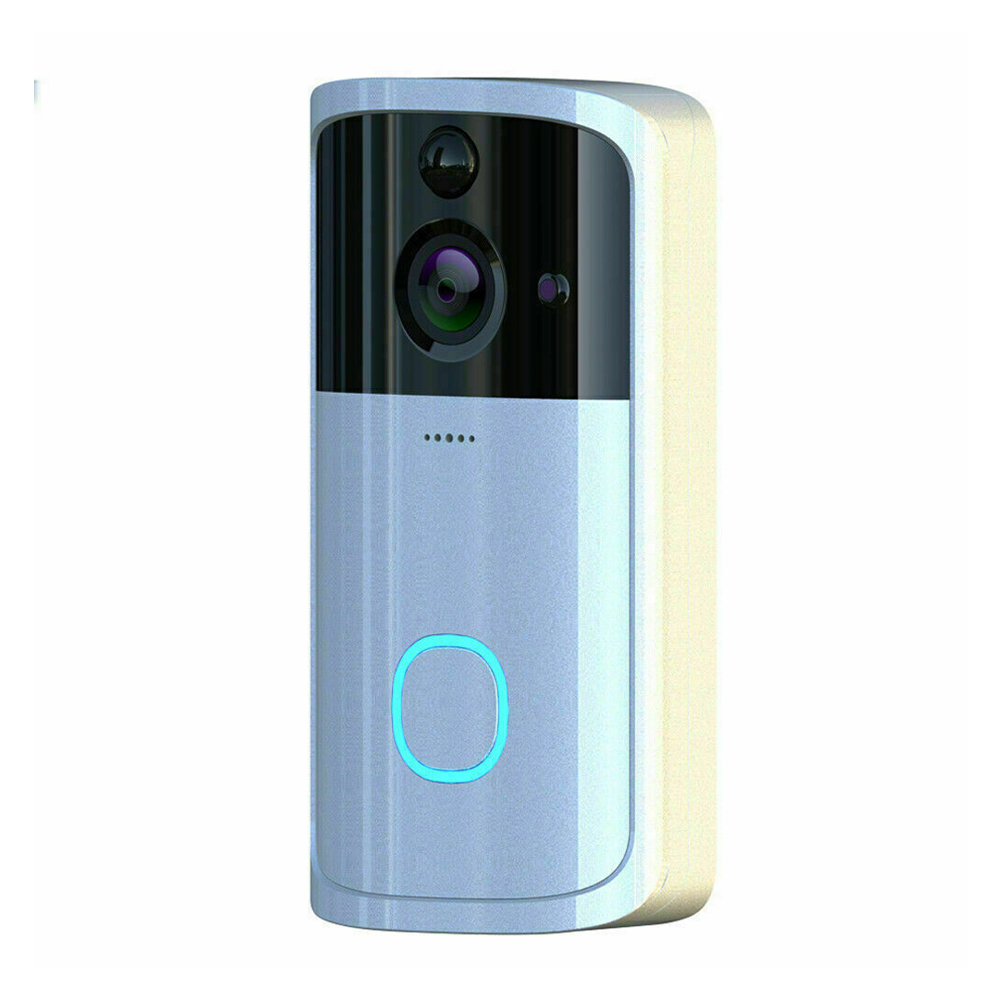 Easy Install Phone APP Wide Angle Visual Smart Night View Intercom Wireless Doorbell Camera Video Remote Peephole Home Security