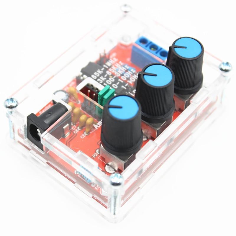 XR2206 Fonction Signal Générateur DIY Kit Sine Triangle Carré Vague 1 HZ-1 MHZ DDS