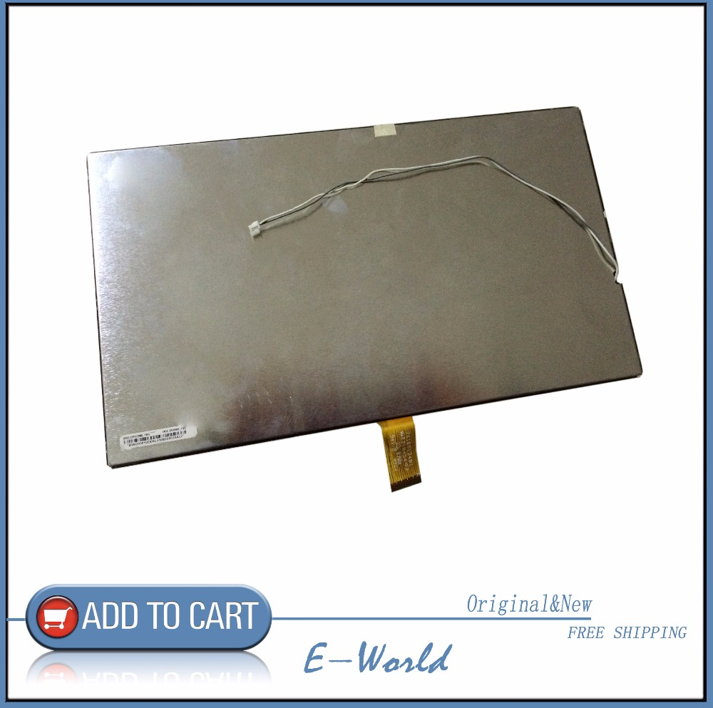 Original and New LCD screen 7610013481 E219454 for tablet pc free shipping фен polaris phd 1241tr лиловый