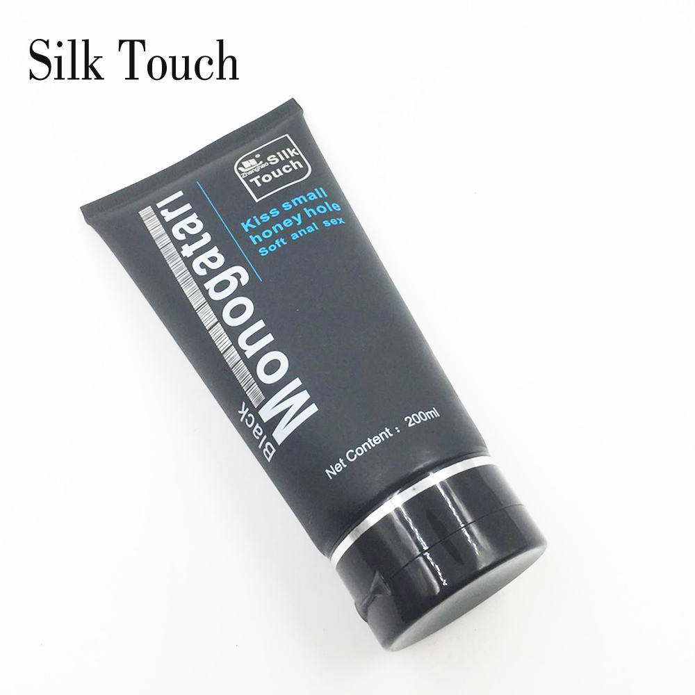 Silk Touch 200ml Sex Anal Lubricant Water-Based Sex Oil Anal Gel Sex Products Sex Lubricant for Gays imitation semen lubricant lube products 200ml vaginal creamy lubrication also for anal sex water base lubricant sex oil