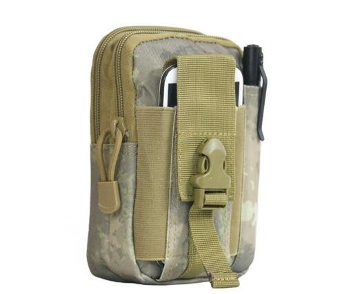 Outdoor Tactical Molle Waist Pack Bags Sport Pouch Purse Phone Case for Iphone 6 Plus SAMSUNG