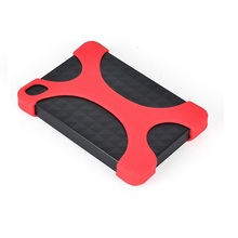 2.5 Inch Portable Hard Drive protector drop-resistance Silicon Rubber Case for S