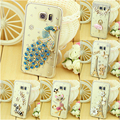Luxo rhinestone bling diamond case capa para samsung galaxy s3 s4 s4 mini s5 s5 mini s6 s7 s7 s6 edge plus borda case cobrir