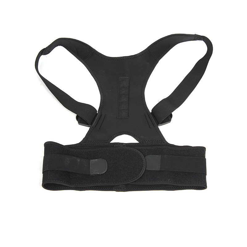 Adjustable Posture Corrector Back Brace Support for Shoulder Back Waist Pain Relief Double Strong Splints Humpback Body Shape in Back Support from Sports Entertainment