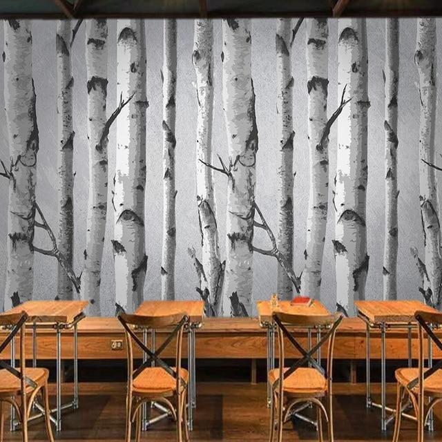 Personnalise 3d Murale En Trois Dimensions Papier Peint Foret De