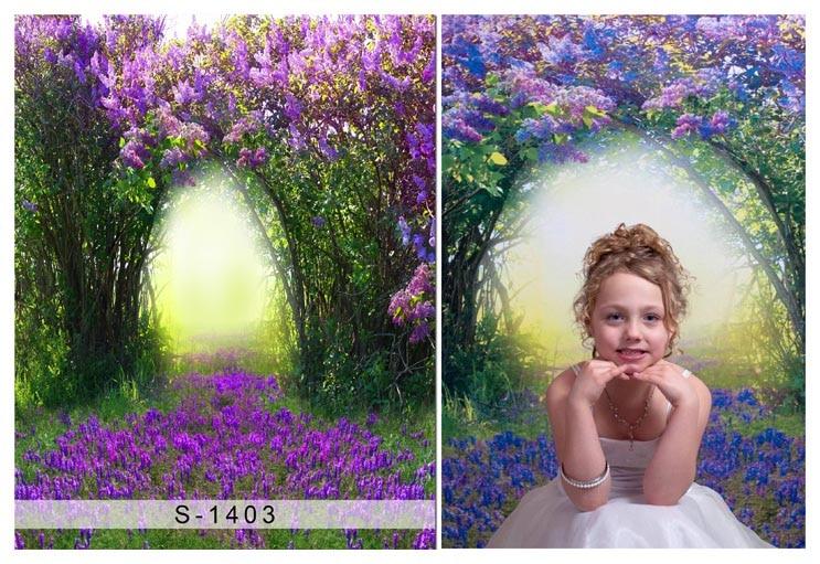 Latar belakang fotografi kanak-kanak Vinyl Photography Backdrop - Kamera dan foto - Foto 2