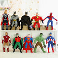 El envío gratuito! el vengador de spider man/iron man, Thor y el Capitán América Hulk/juguetes de peluche, regalo de navidad