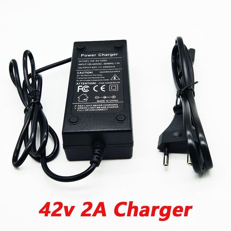 HK liitokala 36V 2a charger 10 series of lithium battery charger 42V electric vehicle lithium battery charger