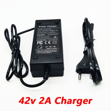 Зарядное устройство для литиевых аккумуляторов 36 В, 2 А, 10 серий, 42 в, зарядное устройство для литиевых аккумуляторов электромобиля