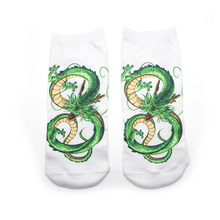 DMLSKY DRAGON BALL Funny Socks Women Men Fashion 3D Printed Cotton Cartoon Novelty M3547