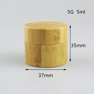Image 5 - Копилка для косметики из натурального бамбука, 12 шт., 10 г, 30 г, 50 г