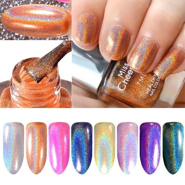 Misscheering 8 Colors Top Grade Rainbow Shinning Chameleon Mirror ...