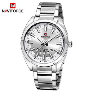 Image 2 - 2020 NAVIFORCE New Top Brand Men Watches Mens Full Steel Waterproof Casual Quartz Date Clock Male Wrist watch relogio masculino