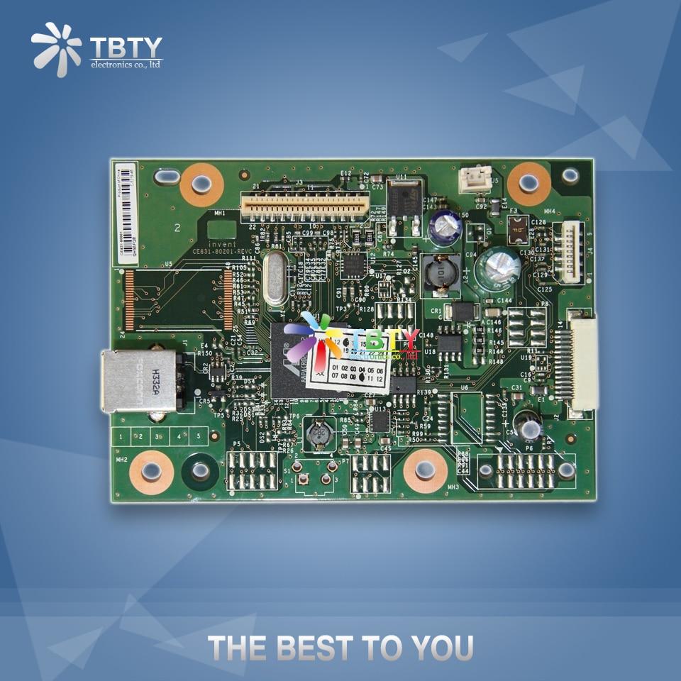 100% Original Main Formatter Board For HP Laserjet Pro M1136 M1132 MFP LJ 1132 1136 CE83 Mainboard On Sale laserjet engine control power board for hp m1132 m1136 1136 1132 rm1 7892 rm1 7902 voltage power supply board