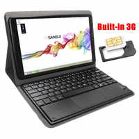 Bouwen in 3G Windows tablet 10.1 inch Windows 8.1 Intel Atom Z3735F IPS 16G Goedkoopste windows PAD Met bluetooth keyboard case
