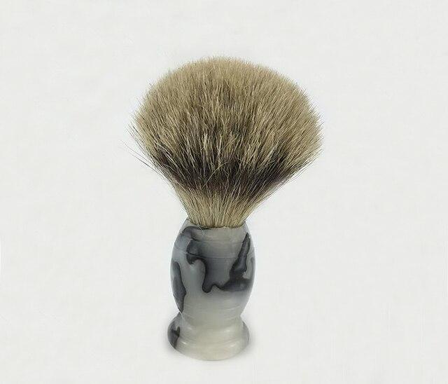 Badger Shaving Brush Barber Beard Salon Tool with Acrylic Handle