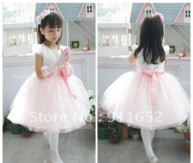 Freeshipping Children flower girl dress TUTU dress pettiskirt Ball ...