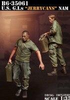 Modelos em escala 1/35 SEGUNDA GUERRA MUNDIAL Soldado dos EUA G. I. s Enlatados soldados figura Histórica DA SEGUNDA GUERRA MUNDIAL Resina modelo Frete Grátis