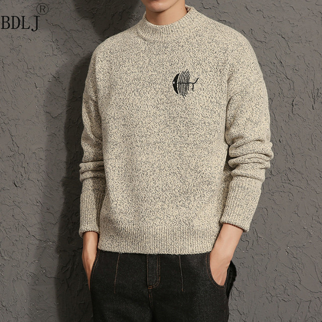 Aliexpress.com : Buy New Winter Arrival Mens Knitted Pullover High ...