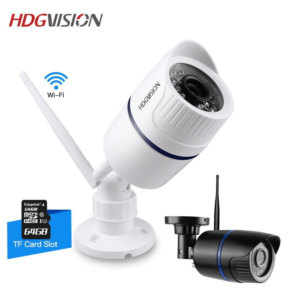 Hdgvision 720 P 1080 P 1.0/2.0MP сети Wi-Fi ip-камера ночного видения беспроводной видеонаблюдения камеры безопасности дома ONVIF камеры видеонаблюдения