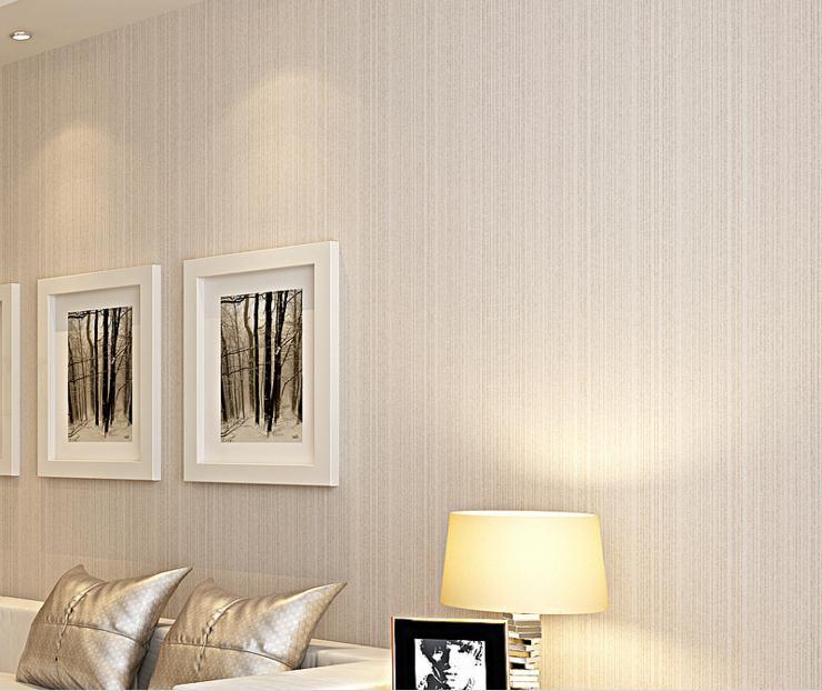 Cheap PVC wallpaper embossed solid color imitation straw wallpaper modern  minimalist living room bedroom engineering scrub - Cheap Vintage Wallpaper Promotion-Shop For Promotional Cheap