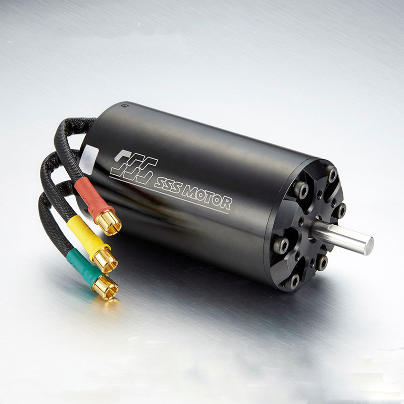 1PC SSS 5684 6 Poles Brushless Inner Rotor Water Cooling Motor KV800 KV1000 KV1200 for RC Car/Boat/Airplane Models Parts