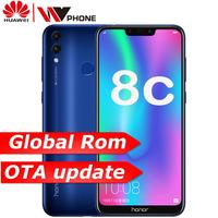 Huawe 8c Honor 8c 3 slot Face ID 6.26 inch Snapdragon 632 Octa Core Front 8.0MP Dual Rear Camera 4000mAh