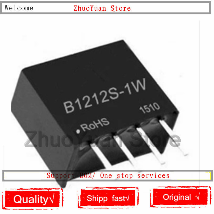 10PCS/lot New Original B1212S-1W B1212 B1212S SIP-4 DC-DC Module