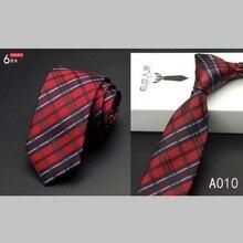 Men Formal Thin Slim Striped Ties 6cm Skinny Party Business Neckties