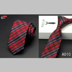 Men Formal Thin Slim Striped Ties 6cm Skinny Party Business Neckties