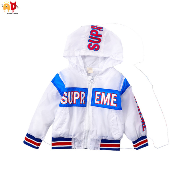 b0bca624d9ad AD Boys Girls Super Thin Sun-proof Jacket for Summer Spring Kids Sports Coat  Outwear