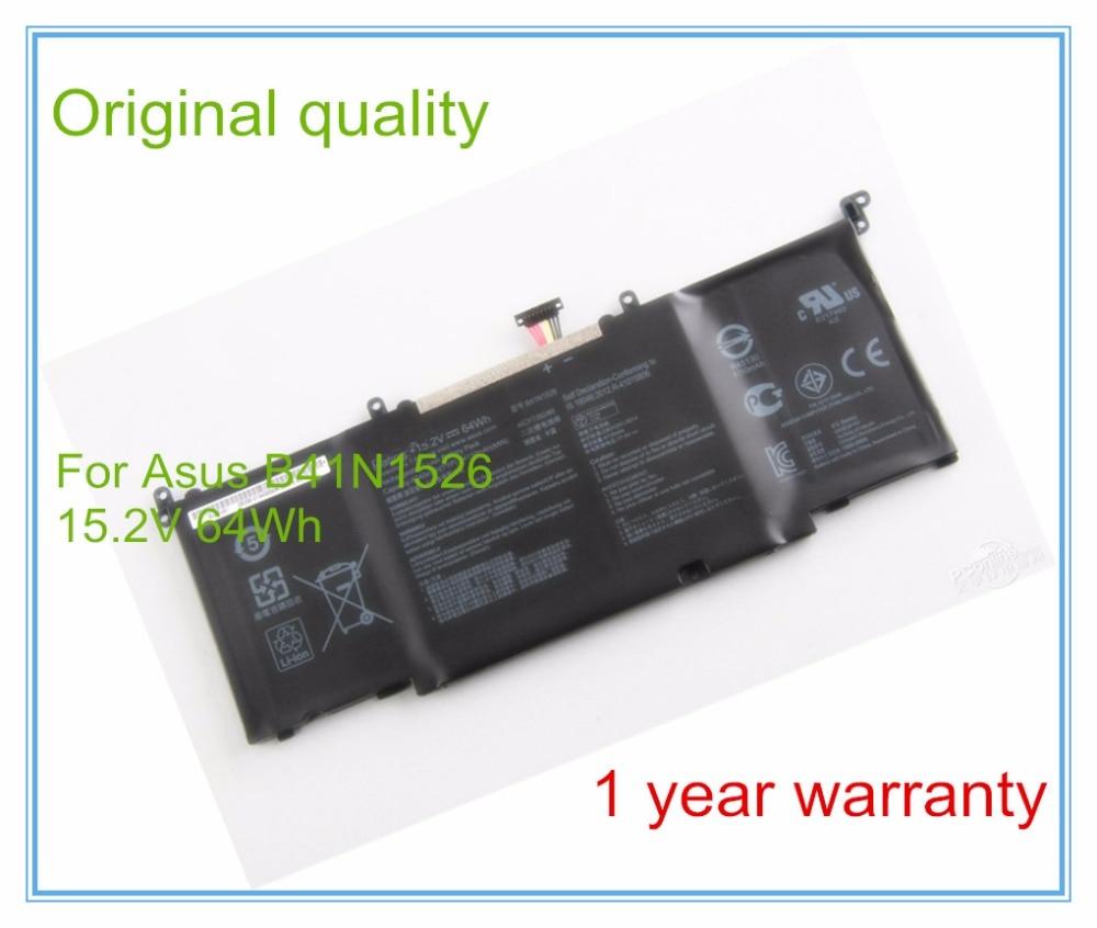 Original laptop batteries for GL502VT,S5VT6700-158AXDA6X30,-1A,ROG Strix GL502,B41N1526,ROG S5VT6700,15.2V,4 cell 114 0175 358 мойка кухонная rog 610 41 сахара ronda franke