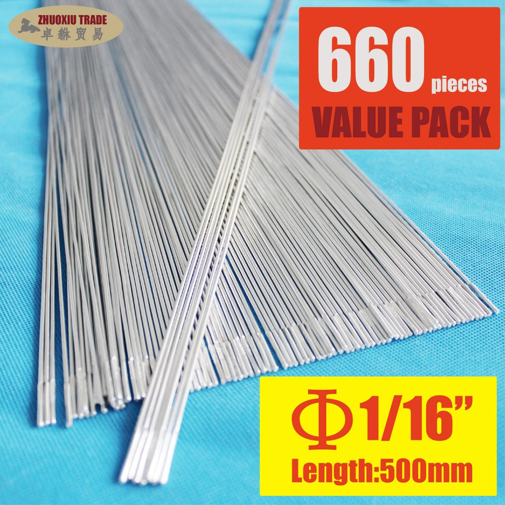 Pack of 660 Aluminum Brazing Rod Wire Electrode 1.6x500mm 1/16 for case aluminum weld(AR-16-660) h1005 bluetooth 4 0 speaker tumbler design black