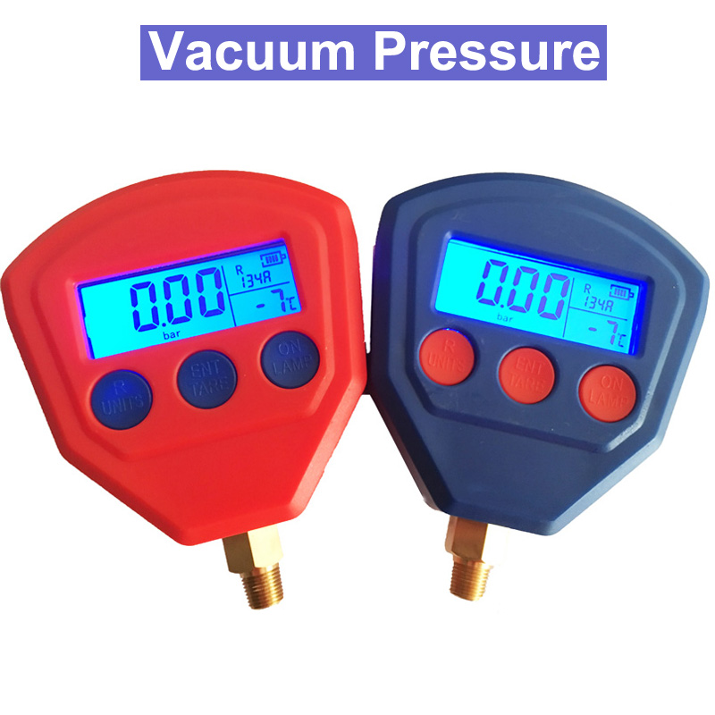SP 2pcs R134A R22 R410A Air Conditioner Refrigerant Low & High Pressure Gauge PSI KPA Refrigeration Vacuum Pressure Gauge lacoste lacoste la038awhsd81