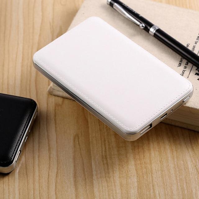 Новый Двойной Заряд Интерфейс Ультратонкий 10000 мАч power bank Dual USB PowerBank Внешняя Батарея для всех телефонов