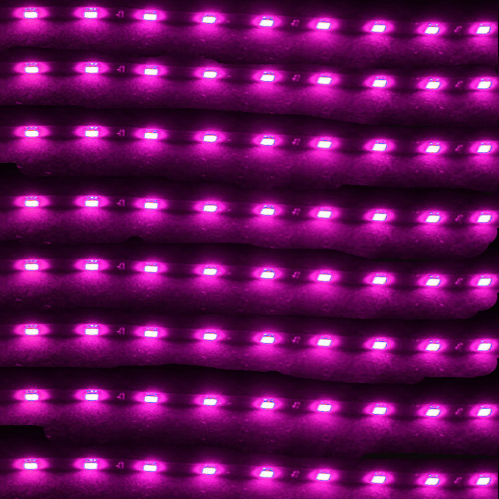 EE suporte 8 Pcs 15 LED 12 V 30 CM Luzes Grill Flexível À Prova D - Faróis do carro - Foto 4