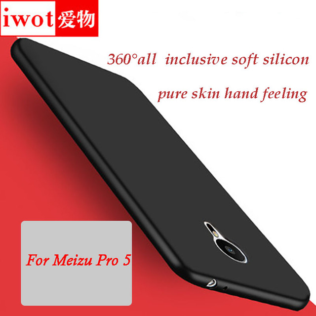 2017 New Real Sale for Meizu Pro 5 Case,iwot Silky series Soft All Inclusive Cellphone Shell Back Cover for meizu Pro5 5.7inch