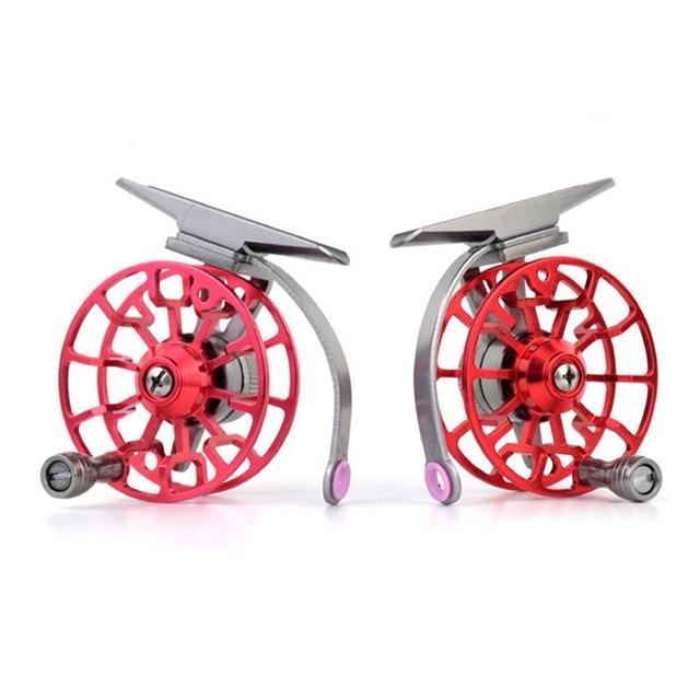 Aluminum Fly Fishing Reel Diameter 55mm Size Right or Left Hand Retrieve 2017,JULY,10 1