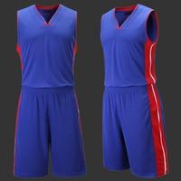 L 5XL Custom Basketball Clothes 2018 Men Set Jersey Short Sport Male Suit Adult Boy Basketball Set Maillot De Basket ball Homme