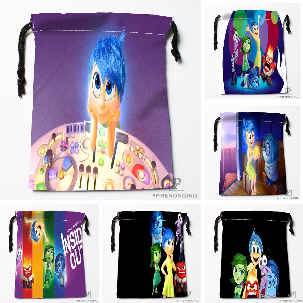 Custom INSIDE OUT Drawstring Bags Printing Travel Storage Mini Pouch Swim Hiking Toy Bag Size 18x22cm#180412-11-80