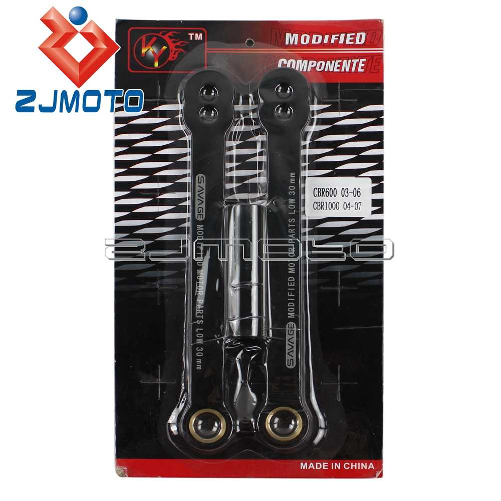 Motorcycle Black Rear Lowering Link For Honda CBR600RR 03-06 CBR1000RR 04-07