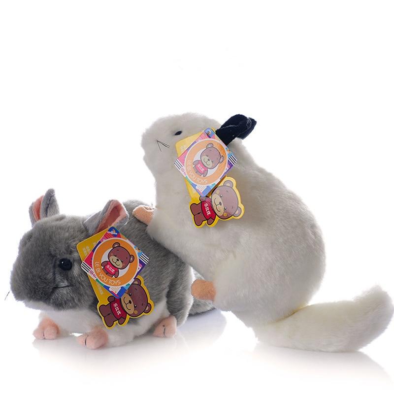 Длиной 30 см, миниатюрные реалистичные плюшевые игрушки, мягкие реалистичные китайские шиллы, мягкие игрушки-животные для детей, доступны 2 ц...