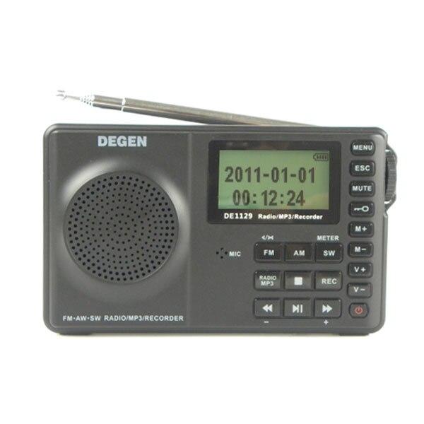 Bescheiden Degen De1129 De-1129 Fm-stereo/am/sw Dsp Ats 4 Gb Mp3 Player Digital Recorder Tragbare Intelligente Multifunktionale Led Radio Warmes Lob Von Kunden Zu Gewinnen Radio