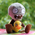 30cm Plants vs Zombies Figures Soft Plush Toys Kids Baby Cartoon Peluche Zombies Toy Best Gift for Children Brinquedos