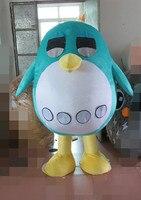 Son yüksek kalite yeşil penguen maskot kostüm yetişkin penguen maskot Tatil özel giyim