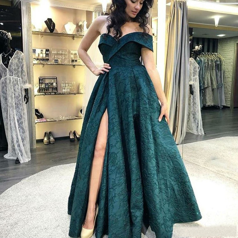 Sexy Off The Shoulder Bridesmaid Dresses Sleeveless Full Lace Thigh High Slits Gowns Custom Made Vestido Longo