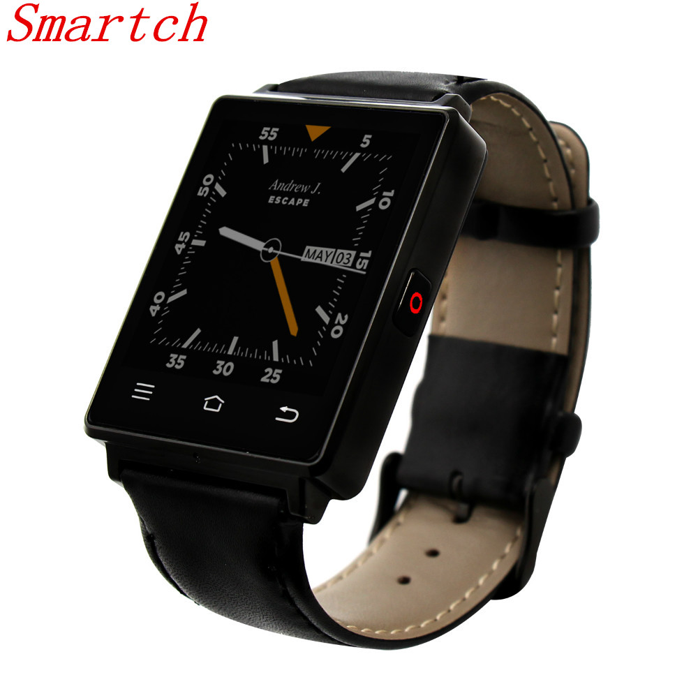 Smartch Bluetooth Smart Watch D6 Plus 1GB RAM 3G Support GPS Health Heart rate Monitor Function Quad Core Andriod watch T0 no 1 d6 1 63 inch 3g smartwatch phone android 5 1 mtk6580 quad core 1 3ghz 1gb ram gps wifi bluetooth 4 0 heart rate monitoring