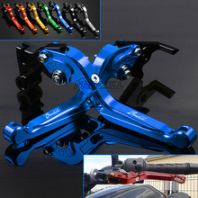 Folding Extending Adustable Aluminum Motorbike Motorcycle Brake Clutch Levers For SUZUKI GSF1200 GSF 1200 BANDIT 1996-2000