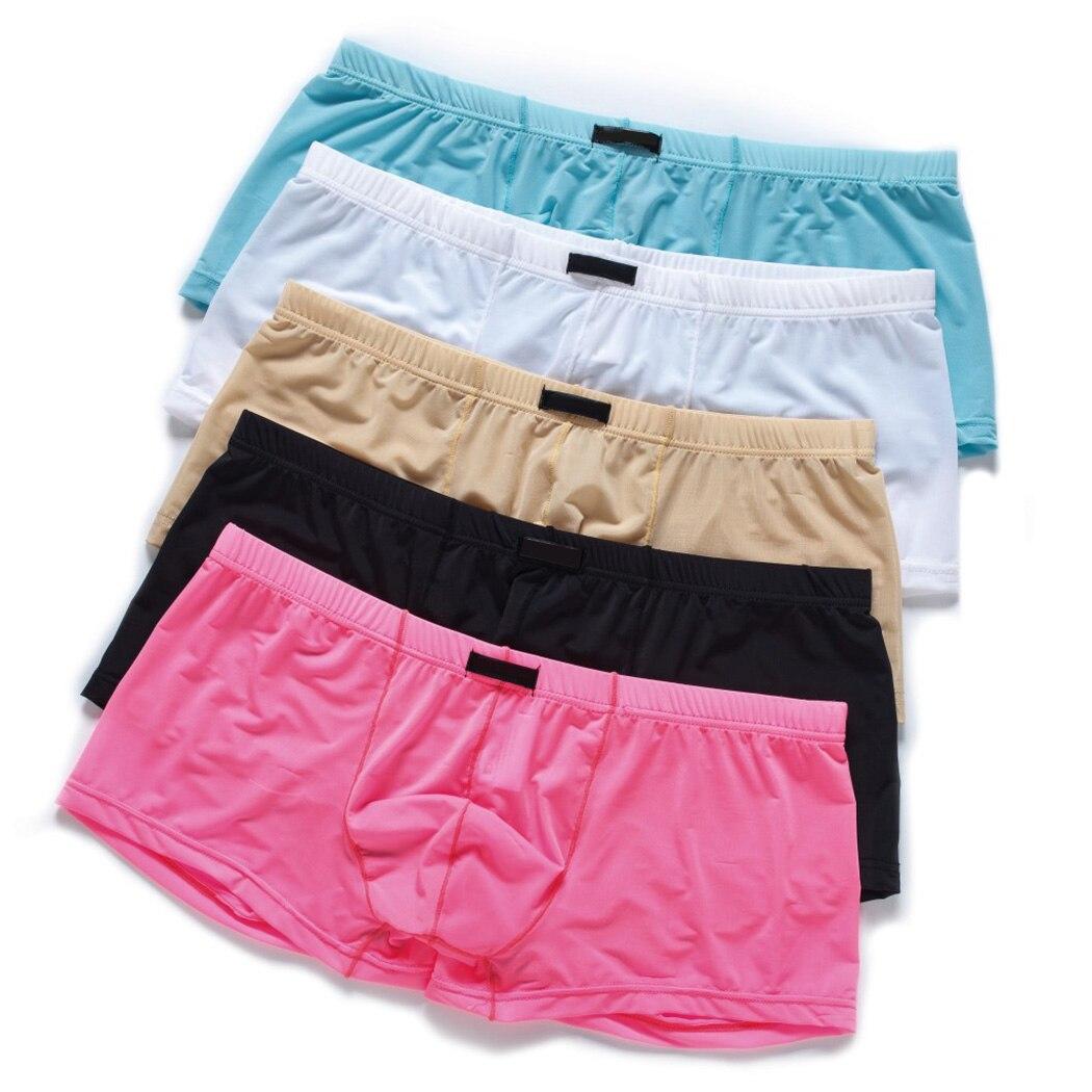 Boxer Shorts Underwear Panties Trunks Sexy Male Cotton Cueca Q4 Men Hombre