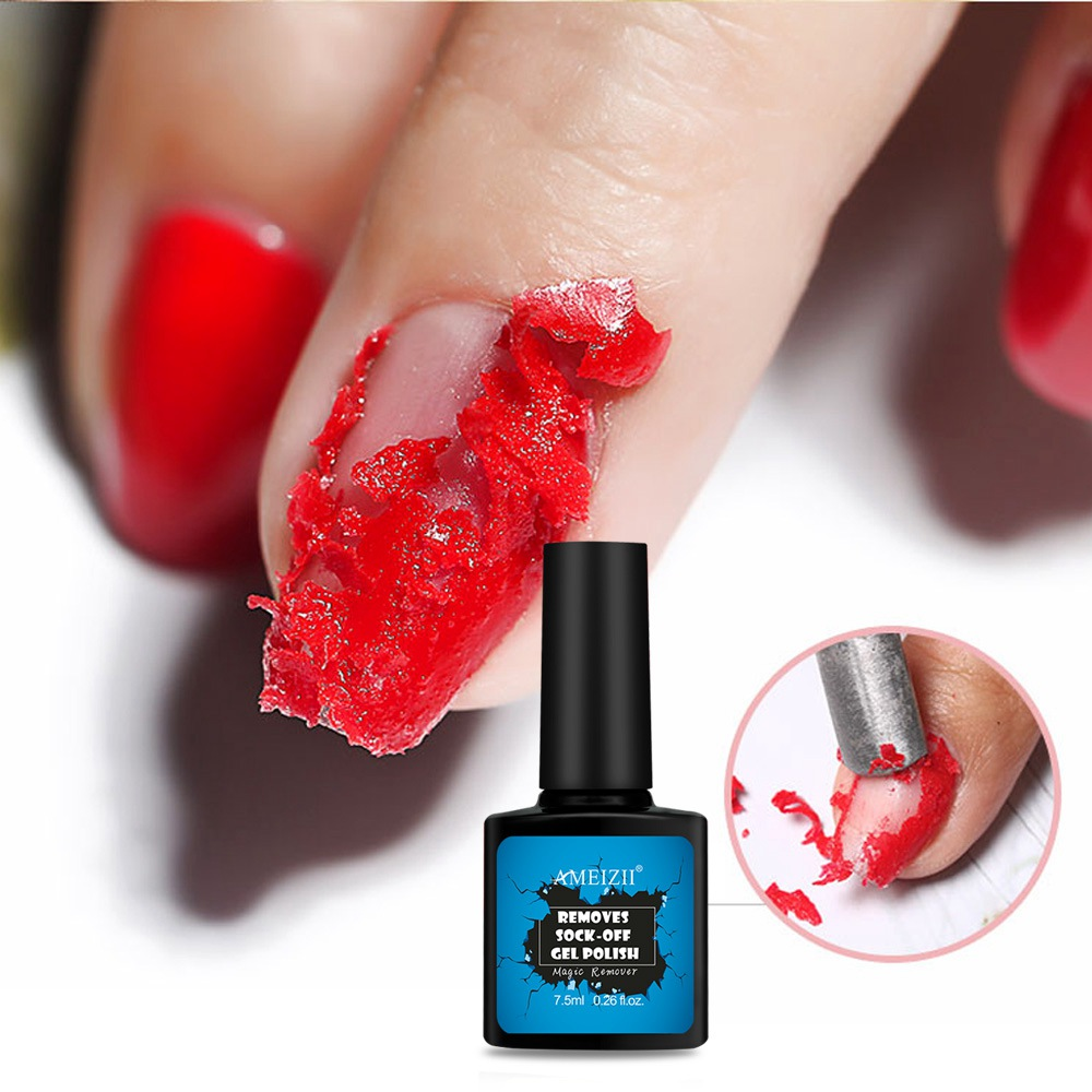 Ameizii Magic Gel Polish Remover Burst Nail Degreaser Gel Cleaner Soak Off Liquid for Removing Gel Polish Varnish Fast Cleansing in Nail Polish Remover from Beauty Health